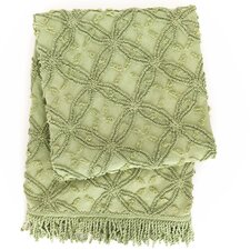 Candlewick Cotton Throw Blanket