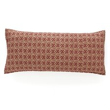 <strong>Pine Cone Hill</strong> Cross-Stitch Quilted Decorative Pillow