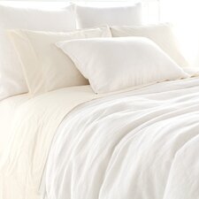 <strong>Pine Cone Hill</strong> Stone Washed Linen Duvet Cover