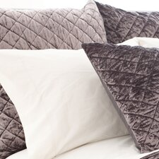 Velvet Diamond Quilted Sham