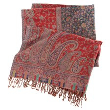 Vanhi Paisley Wool Throw