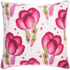 Bright Stuff Happy Poppies Decorative Pillow