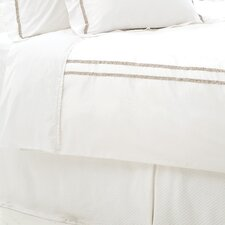 Ruched 400 Thread Count  Duvet Cover