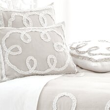 <strong>Pine Cone Hill</strong> Ruched Linen Duvet Cover Collection