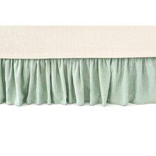 Chambray Linen Ocean Bed Skirt