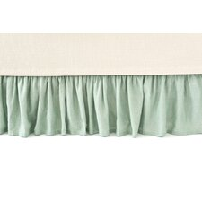 Chambray Linen Ocean Bed Skirt