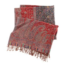 <strong>Pine Cone Hill</strong> Vanhi Paisley Wool Throw