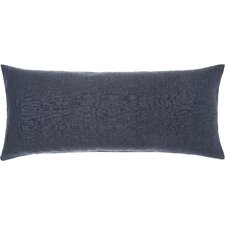 Chambray Linen Double Boudoir Pillow