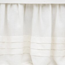 Pleated Linen Bed Skirt
