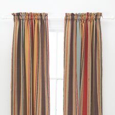 <strong>Pine Cone Hill</strong> Whitney Cotton Rod Pocket Curtain Single Panel