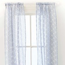 <strong>Pine Cone Hill</strong> Veena Linen Rod Pocket Curtain Single Panel