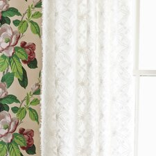 <strong>Pine Cone Hill</strong> Candlewick Cotton Rod Pocket Curtain Single Panel