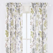 India Gate Cotton Rod Pocket Curtain Single Panel