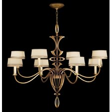 Staccato Silver 8 Light Chandelier