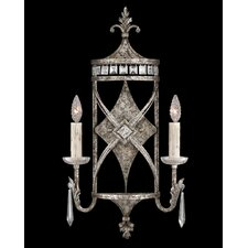 <strong>Fine Art Lamps</strong> Winter Palace 2 Light Wall Sconce