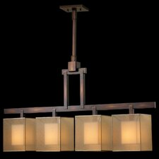 <strong>Fine Art Lamps</strong> Quadralli 4 Light Chandelier