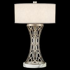 "Allegretto Silver 32"" 1 Light Table Lamp"