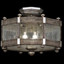 <strong>Fine Art Lamps</strong> Villa Vista 3 Light Semi-Flush Mount
