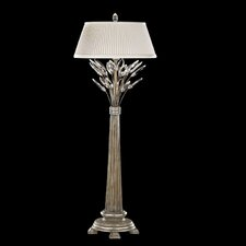 <strong>Fine Art Lamps</strong> Crystal Laurel 1 Light Table Lamp