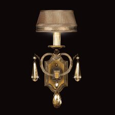 Golden Aura 1 Light Wall Sconce
