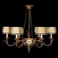 <strong>Fine Art Lamps</strong> Newport 6 Light Chandelier