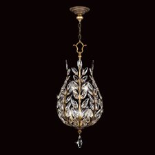 Crystal Laurel Gold 6 Light Foyer Pendant