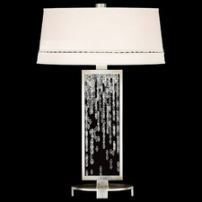 "Cascades 33"" H Table Lamp with Drum Shade"