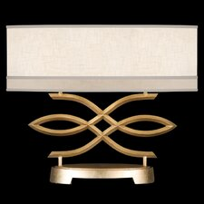 "Allegretto Gold 21"" H 2 Light Table Lamp"
