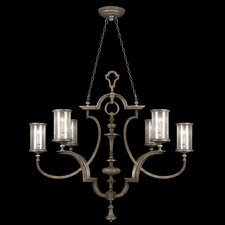<strong>Fine Art Lamps</strong> Villa Vista 6 Light Oblong Chandelier