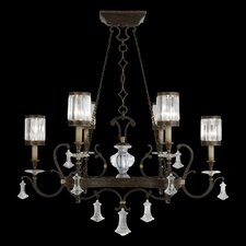 Eaton Place 6 Light Oblong Chandelier