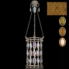 Encased Gems 6 Light Foyer Pendant
