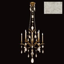 Encased Gems 8 Light Chandelier