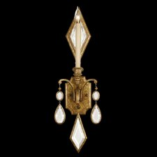 Encased Gems 1 Light Wall Sconce