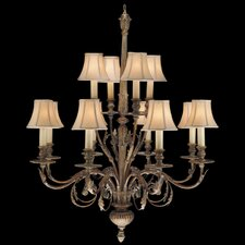 <strong>Fine Art Lamps</strong> Verona 12 Light Chandelier