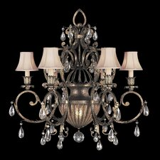 <strong>Fine Art Lamps</strong> A Midsummer Nights Dream 7 Light Chandelier