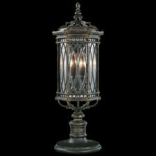 Warwickshire 3 Light Outdoor Post Lantern Set