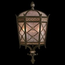 Chateau 2 Light Outdoor Wall Lantern