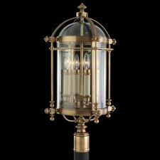 Portsmouth 4 Light Outdoor Post Lantern Set