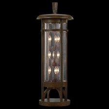 Aspen 9 Light Outdoor Pier Mount Lantern