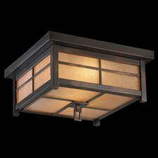 Capistrano 2 Light Outdoor Flush Mount