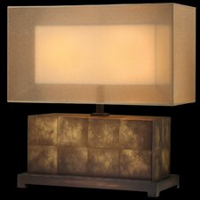 Quadralli Table Lamp with Rectangle Shade