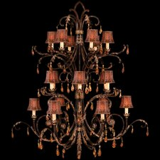 <strong>Fine Art Lamps</strong> Brighton Pavillion 18 Light Chandelier