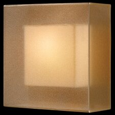 Quadralli 1 Light  Coupe Wall Sconce