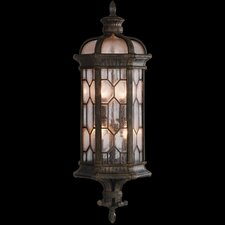Devonshire 3 Light Outdoor Wall Lantern