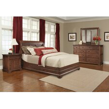Retreat Cherry Sleigh Bedroom Collection