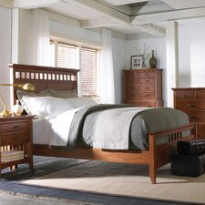 <strong>Cresent Furniture</strong> Modern Shaker Panel Bed