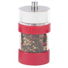 Rita 4.6'' Red Salt Shaker - Pepper Mill Combo