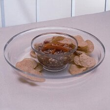 <strong>William Bounds</strong> Grainware Serving Necessities 2 Piece Chip and Dip