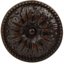 "Louis XVI 1.22"" Round Knob in Oil Rubbed Bronze"