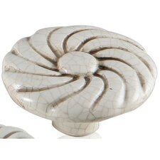 "<strong>Bosetti-Marella</strong> Ceramic Knobs 1.75"" Ray Knob"